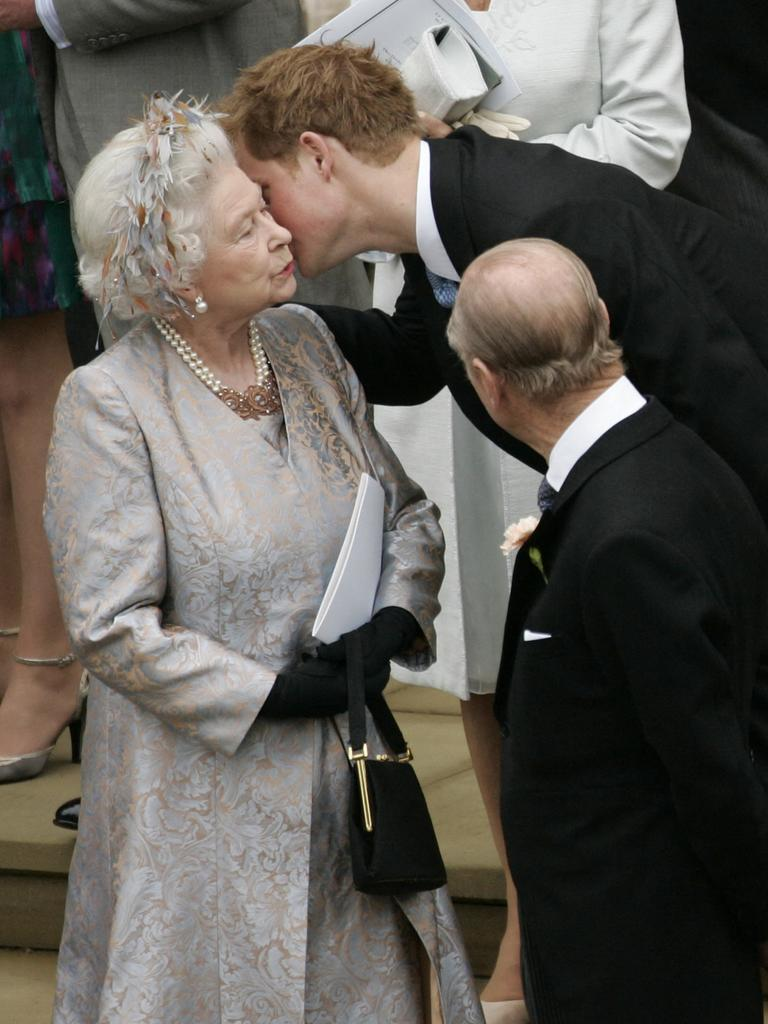 The Queen has a soft spot for Prince Harry. Picture: SANG TAN / POOL / AFP.
