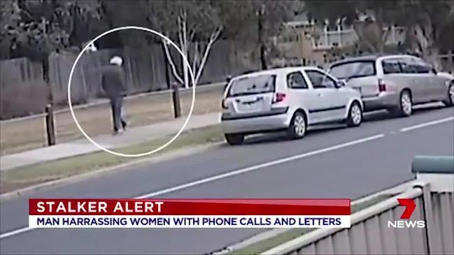 Hunt for stalker in harassing women in Melbourne (7 News)