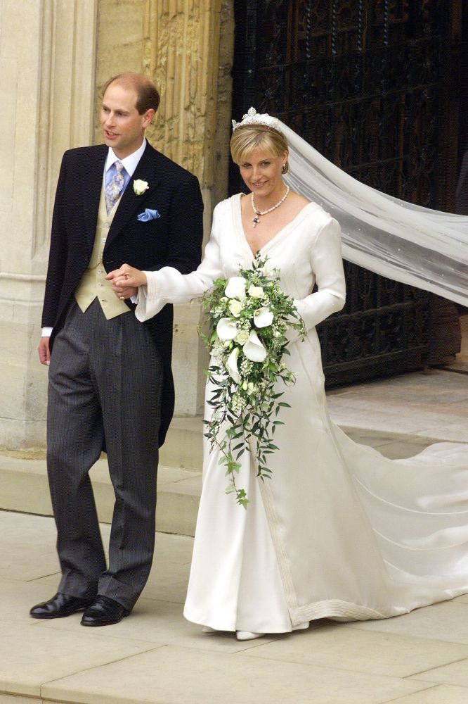 Inside Prince Edward and Sophie, Countess of Wessex's 1999 wedding