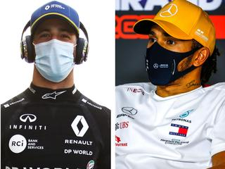 F1 driver ratings from the 2020 season.