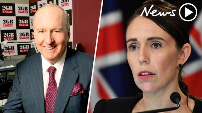 "Alan Jones on Jacinda Ardern ""She's a clown"""