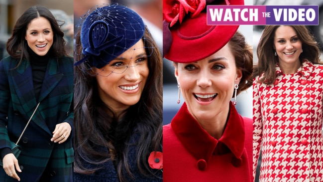 Meghan VS Kate: Duchess fashion moments