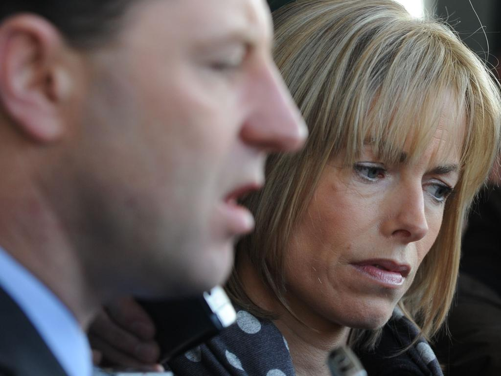 Gerry and Kate McCann have never stopped looking for their daughter. Picture: FRANCISCO LEONG / AFP