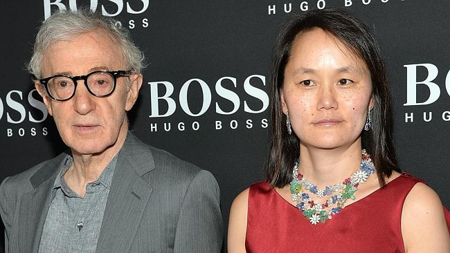 Scandal ... Liam Neeson was filming a sex scene when news of the Woody Allen and Soon Yi