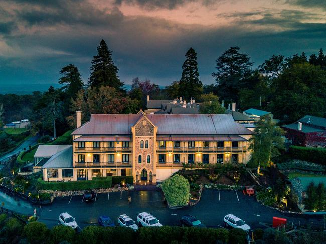 ADELAIDE, OVERNIGHT PACKAGE, $399  Escape to the Adelaide Hills and stay at Mount Lofty House from $399 a night. Your stay includes accommodation for two, $200 dining credit to be used at Hardy's Verandah Restaurant, two $50 vouchers to be used at Stables Day Spa and a bottle of Mount Lofty House Estate sparkling. You will also receive an estate tour including mulled wine and marshmallow roasting. Offer valid until September 30, 2019. Ph (08) 8339 6777, mtloftyhouse.com.au