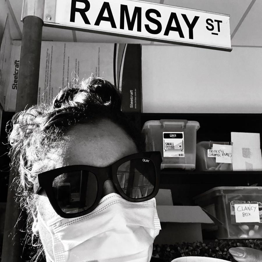 Shareena Clanton has detailed the 'traumatising' racism she endured on the set of Neighbours. Picture: Instagram