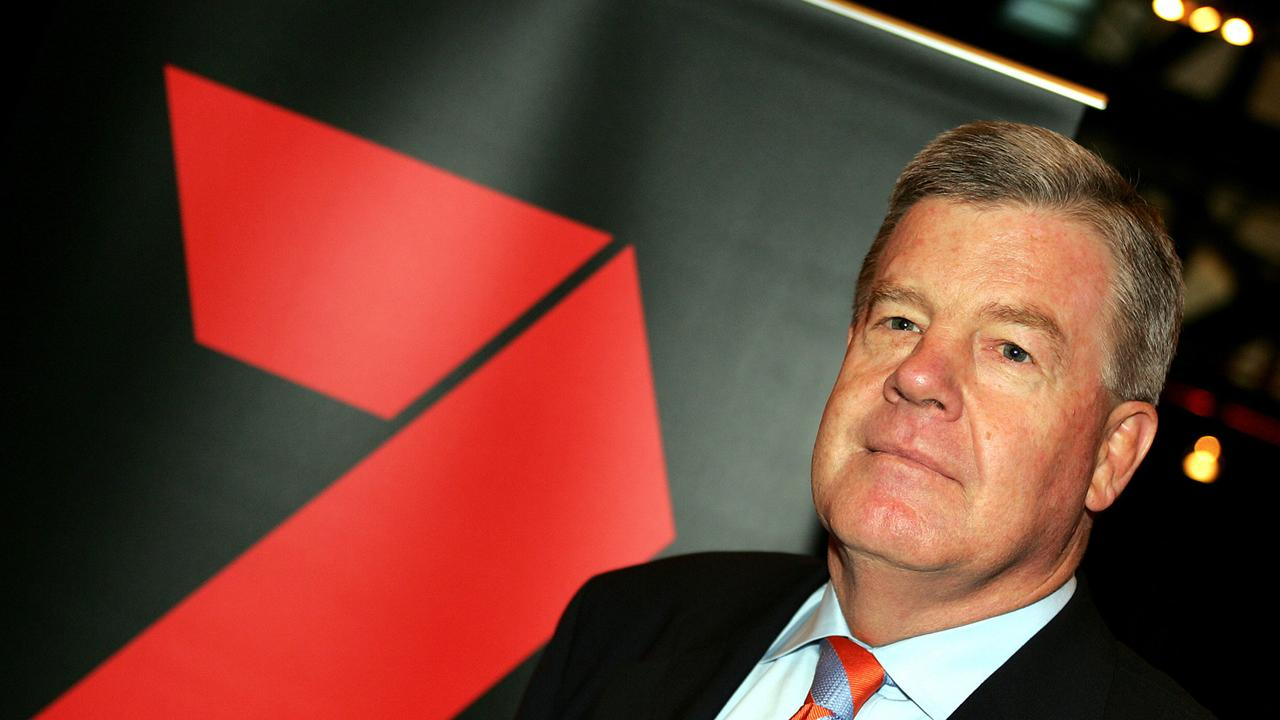 David Leckie, former CEO of the Channel 7 Network. Picture: AFP / Greg Wood