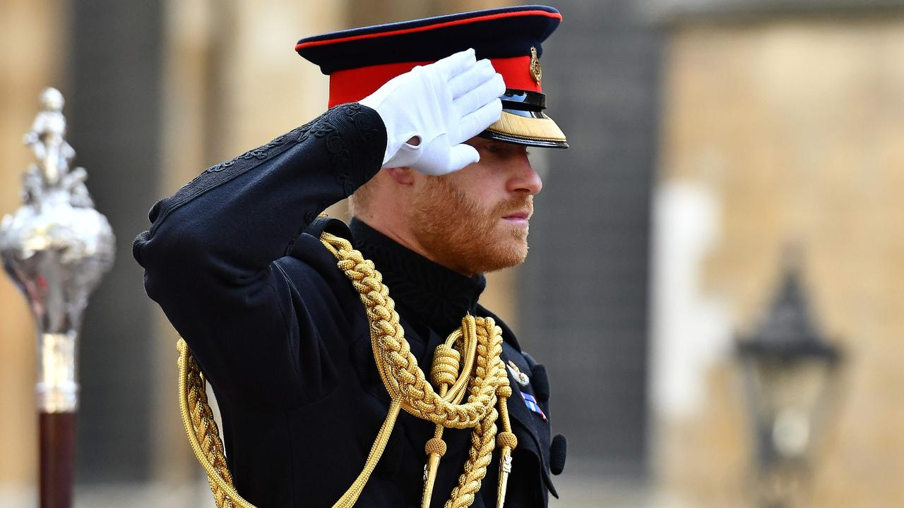 Prince Harry holds three prestigious military roles. Picture: Ben Stansall/AFP