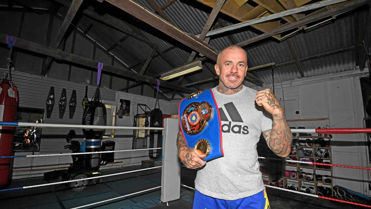Gympie boxer and new national title holder Danny Hawkins. Picture: Troy Jegers