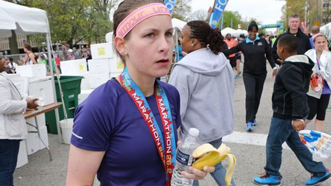 The marathon winner who didn't run the race