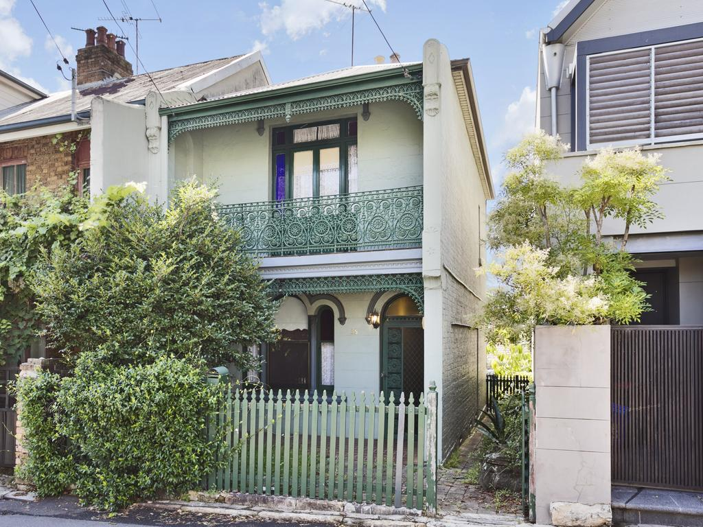 The auction of this terrace at 35 Waterview St in Balmain is set to be a big one.
