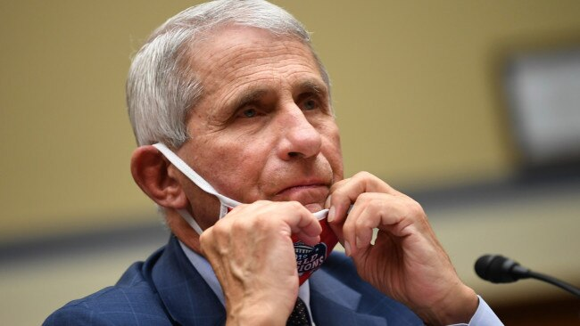 Dr Anthony Fauci says once COVID-19 vaccines receive full approval they will be able to be mandated by universities, colleges and big businesses. Picture: AP Images