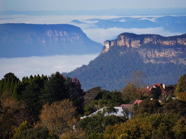 "8. KATOOMBA, NSW  WHY IT WON: Oh hey (three) sisters! A vibrant and historic town at the heart of the Blue Mountains, Katoomba spoils its guests with spectacular walks and lookouts, rich cultural heritage and great restaurants and bars."" Picture: Wotif"