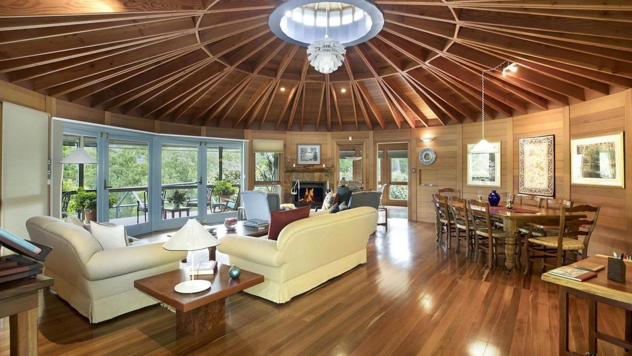 This yurt home in the Kangaroo Valley has sold.