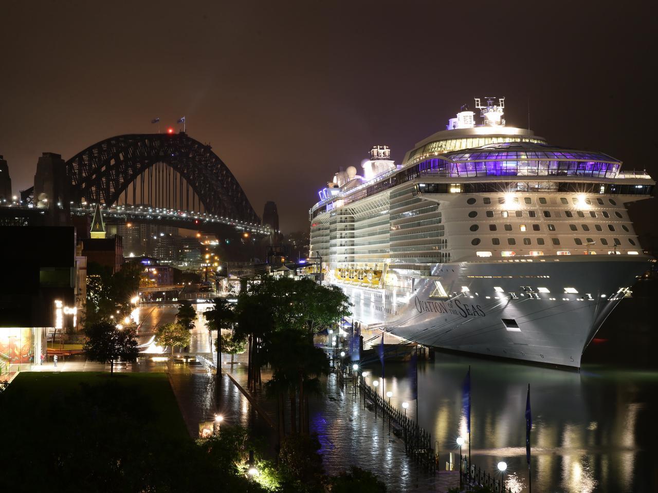Ovation of the Seas Night Images
