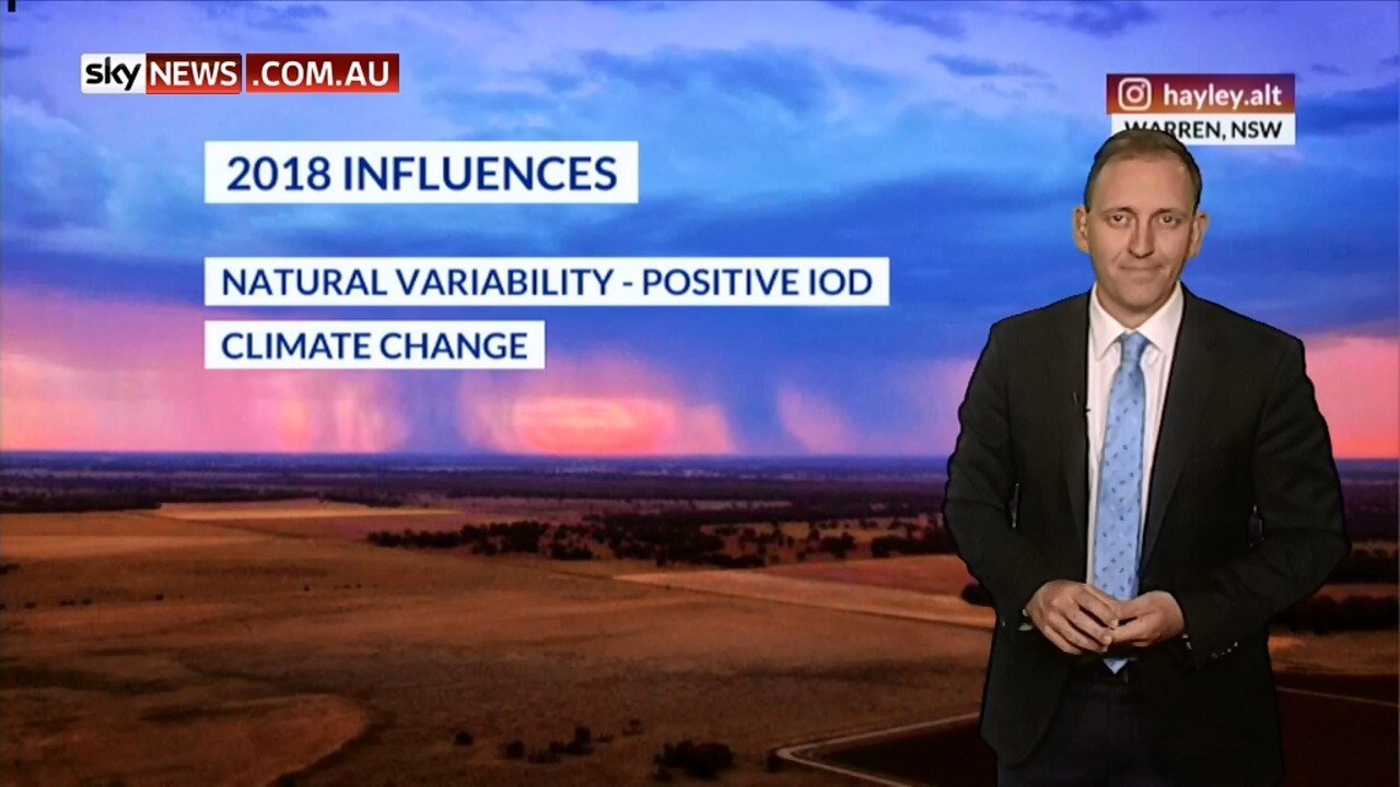 Weather Explained: 2018 was the third warmest year in Australia