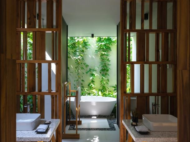 "MIA Design Studio said they installed limited doors and walls in each villa (which would prevent the connection between indoor and outdoor spaces), saying ""we believe that floor and roof are enough for living areas.""See more: The hotel A-listers can't get enough of   See more: This Aussie island left me speechless"