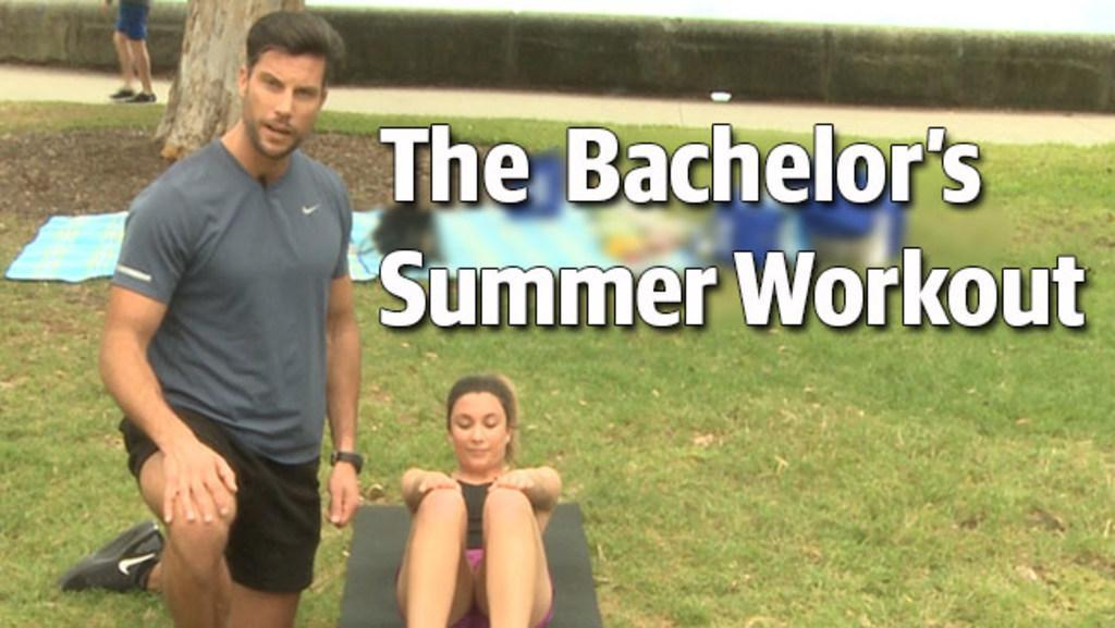 The Bachelor's summer workout