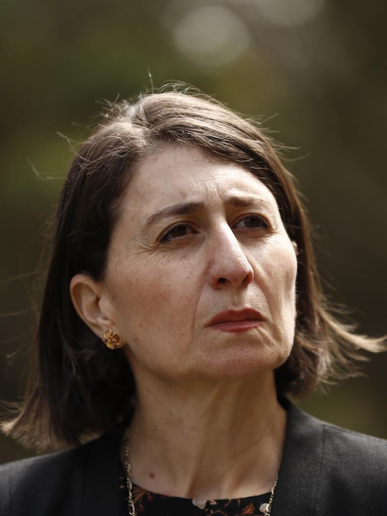 """NSW Premier Gladys Berejiklian has consistently called out the border closure as an """"offensive"""" and """"unrealistic"""" rule. Picture: Ryan Pierse/Getty Images"""