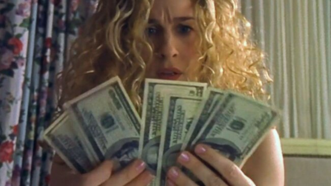 Apparently 1 in 8 Aussies have been dumped for their money woes. Image: Sex and the City / HBO