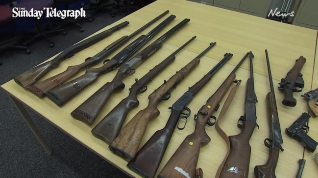 Jason Ross Maloney has been charged with a string of firearm offences