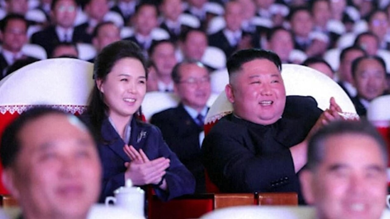 Kim Jong Un's wife makes first public appearance in a year