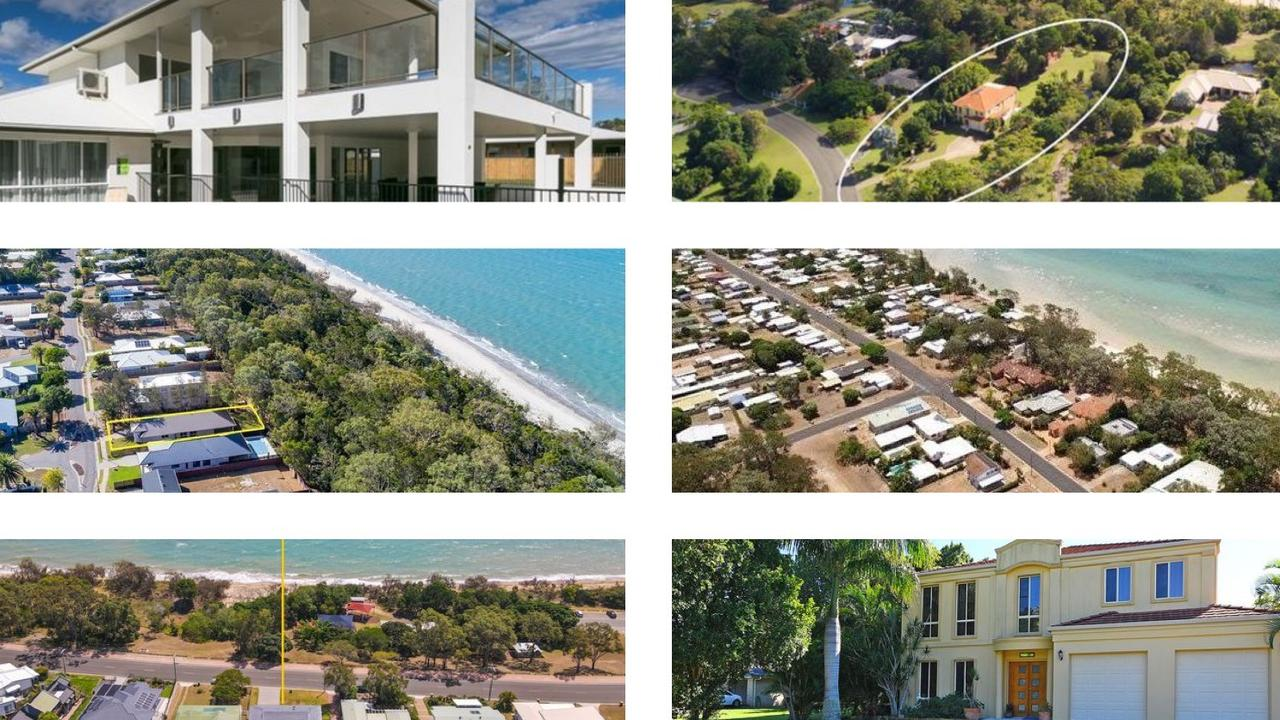 Beachfront houses for sale on the Fraser Coast – an area that has become increasingly popular. Picture: News Regional Media