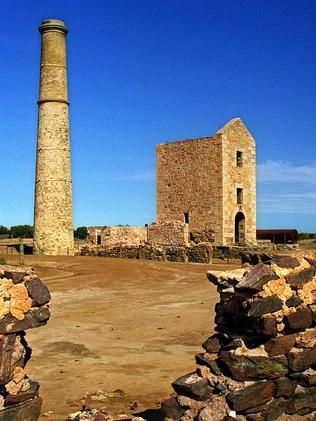 The Hughes engine house at Moonta.