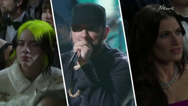 Oscars 2020: Stars confused by Eminem's 'Lose Yourself' act