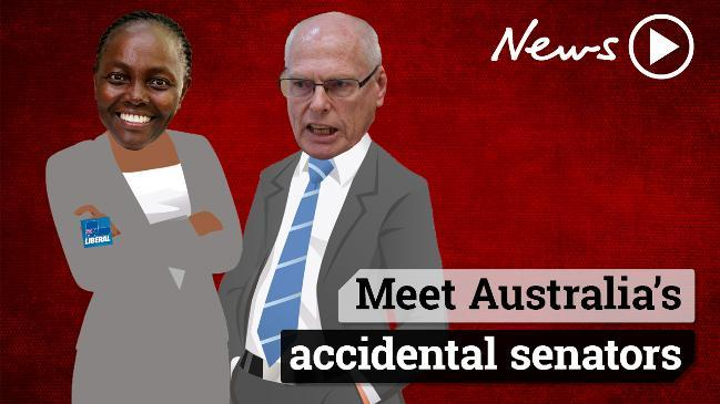 Meet Australia's accidental senators