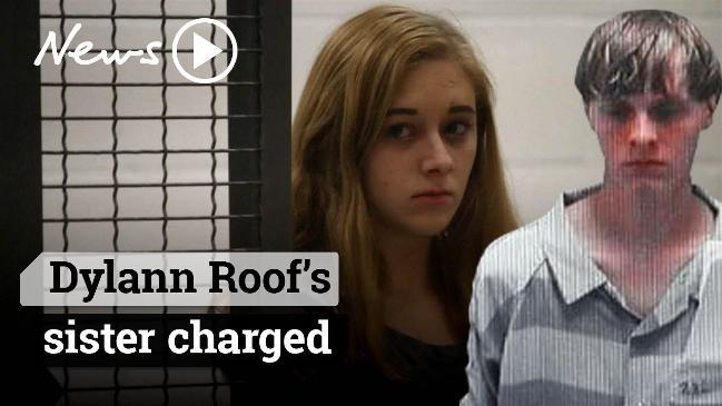 Dylann Roof's sister charged
