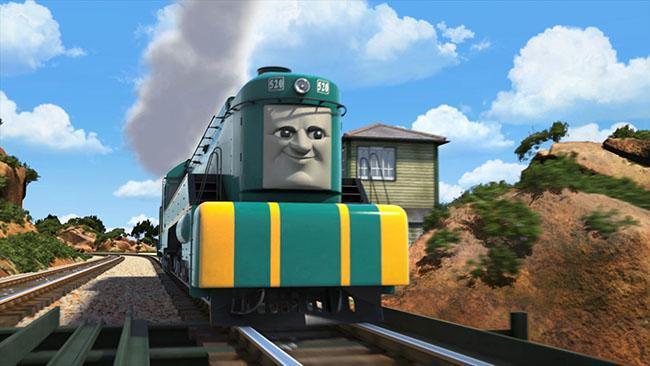 Meet Thomas the Tank Engine's new Australian friend