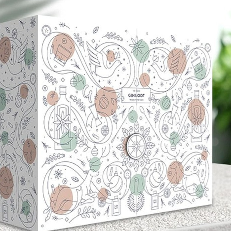 An Aussie beverage company has just released its 2020 Gin advent calendar. Picture: Gin Loot