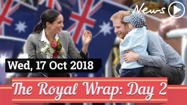 Royal Tour Wrap: Day Two