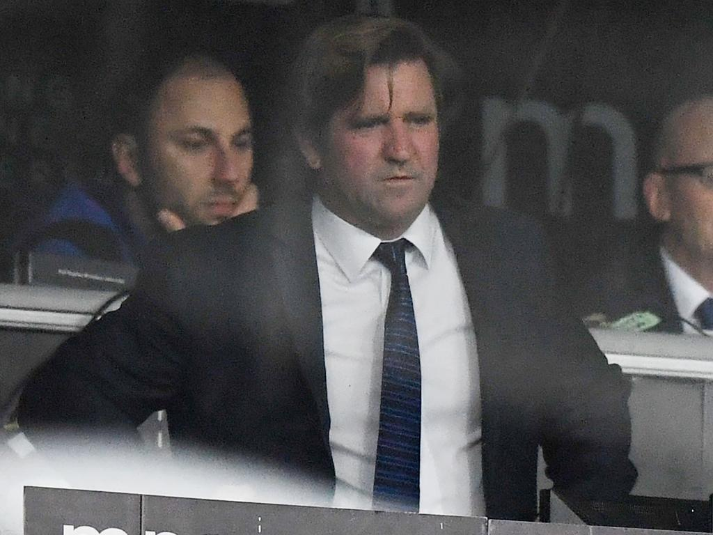 Des Hasler doesn't appear to have the full support of the board, one week into a new contract.