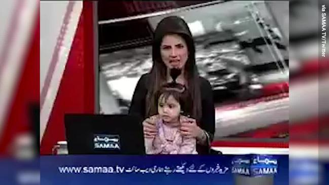 TV host takes daughter on air to protest rape and murder of 8-year-old Zainab Ansari