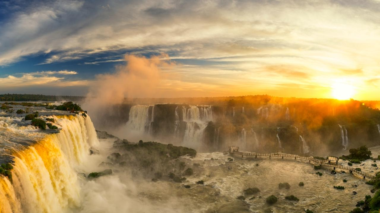 Iguazu Falls will leave you breathless. And possibly damp.