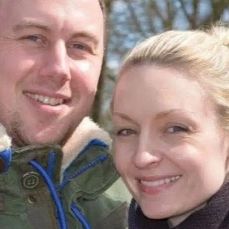 Sergeant Rachael Johnson pictured with husband, Ross Johnson.