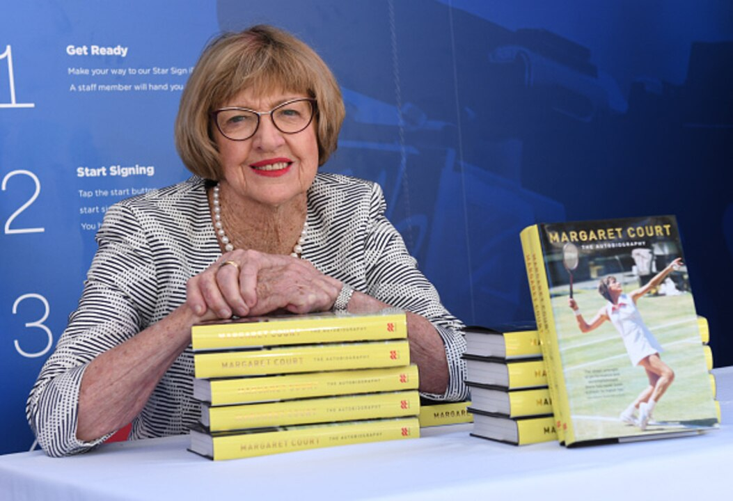 All England Club pays tribute to Tennis Champion Margaret Court