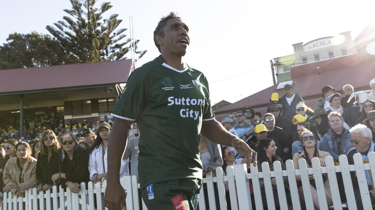 Andrew Walker during the match between Randwick and Argentina at Coogee Oval.
