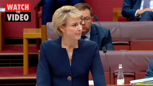 An emotional Michaelia Cash opens up about Brittany Higgins alleged rape