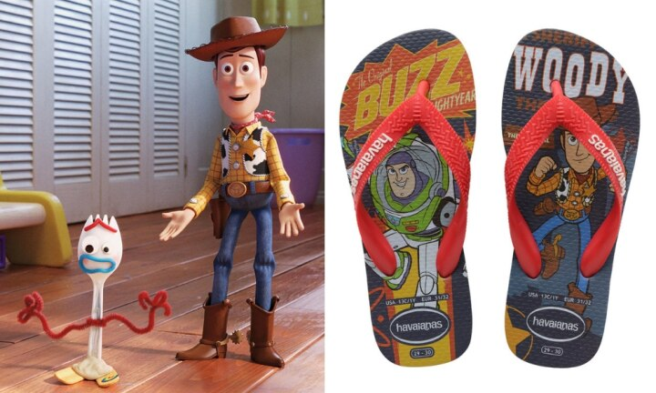 You can now get Toy Story-themed Havaianas