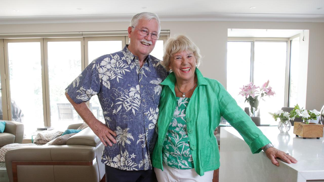 Terry and Margaret Malone are cruising through their golden years. Picture: Liam Driver