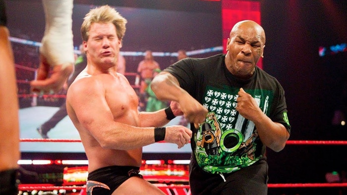 Chris Jericho gets knocked out