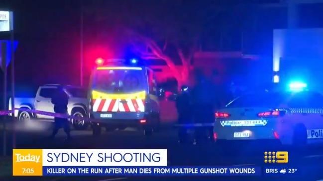 Man shot to death in Sydney's west (Today)