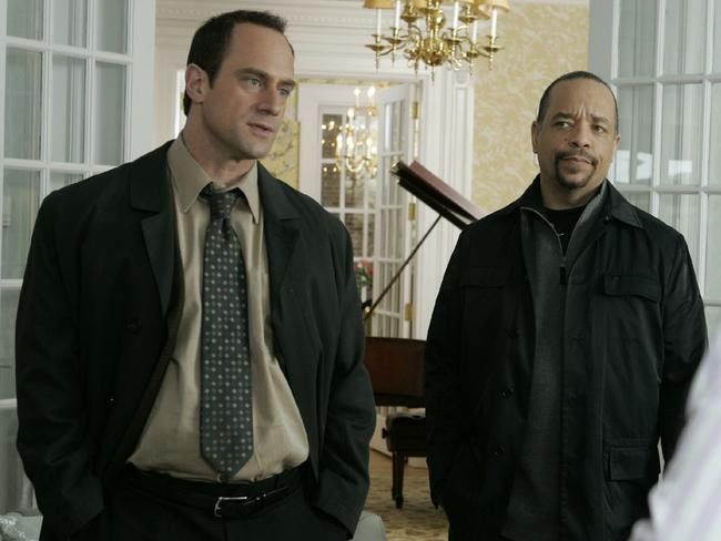 Ice with former co-star Christopher Meloni.