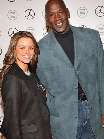 Michael Jordan and wife, Yvette Prieto
