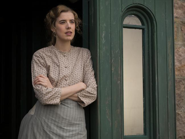 Agyness Deyn is captivating as Chris Guthrie in her acting debut in the film, Sunset Song. Picture: 2015 Sunset Song Ltd / Iris Productions / The British Film Institute.
