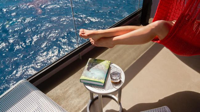 Sea Terrace, Virgin Voyages. Picture: Virgin Voyages