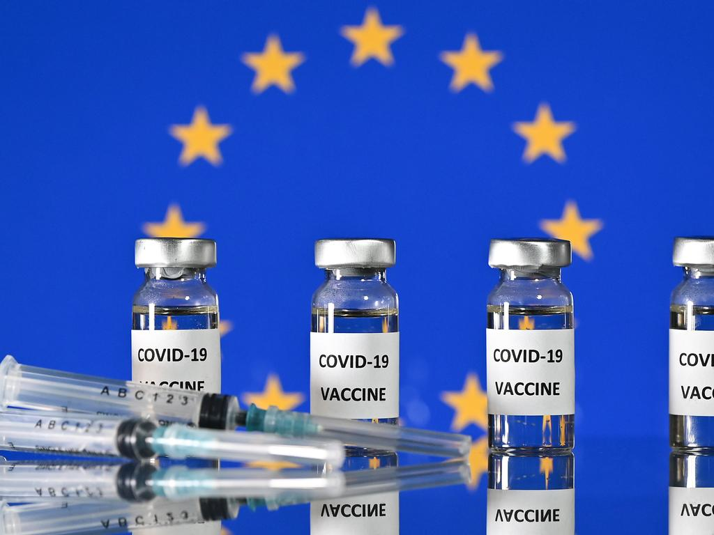The EU has been embroiled in a stoush with AstraZeneca. Picture: Justin Tallis / AFP